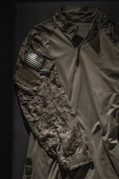 The uniform Navy SEAL Robert O'Neill wore the night he shot Osama Bin Laden.