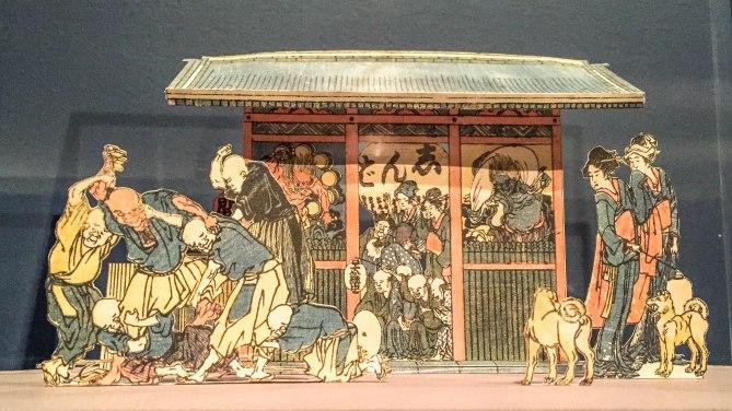 Kaminarimon Gate. Katsushika Hokusai. 1780s.